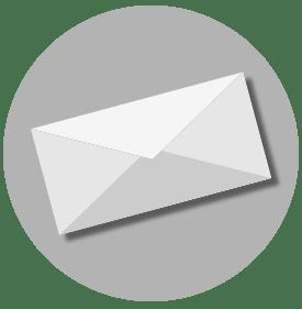 stacked envelope